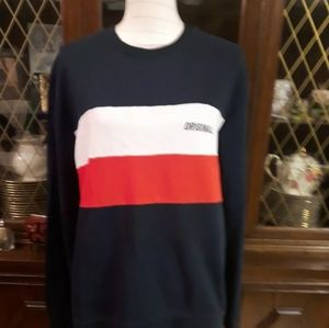 Jack & Jones Blue White An Red Sweater Size Large